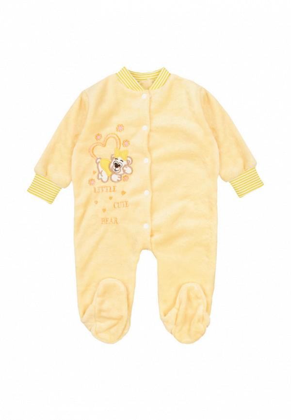 комбинезон малыш style малыши, желтый