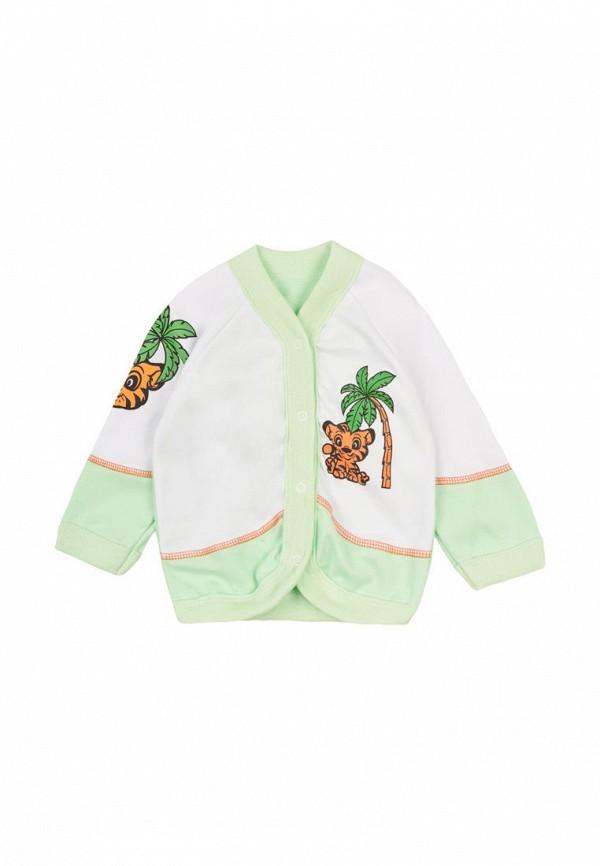 распашонка малыш style малыши, зеленая