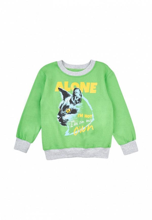 свитшот малыш style малыши, зеленый