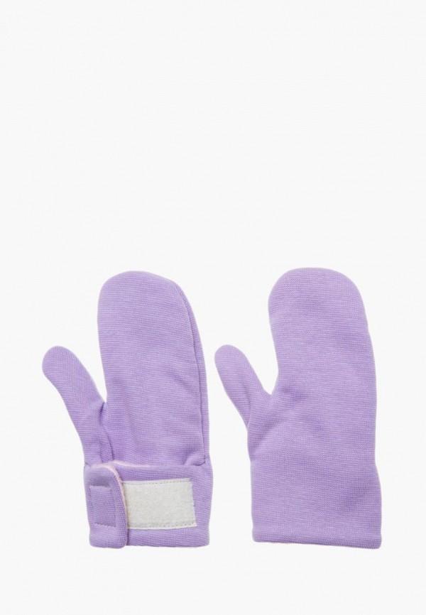 варежки mom&me малыши, фиолетовые
