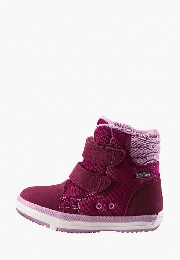 ботинки reima малыши, бордовые