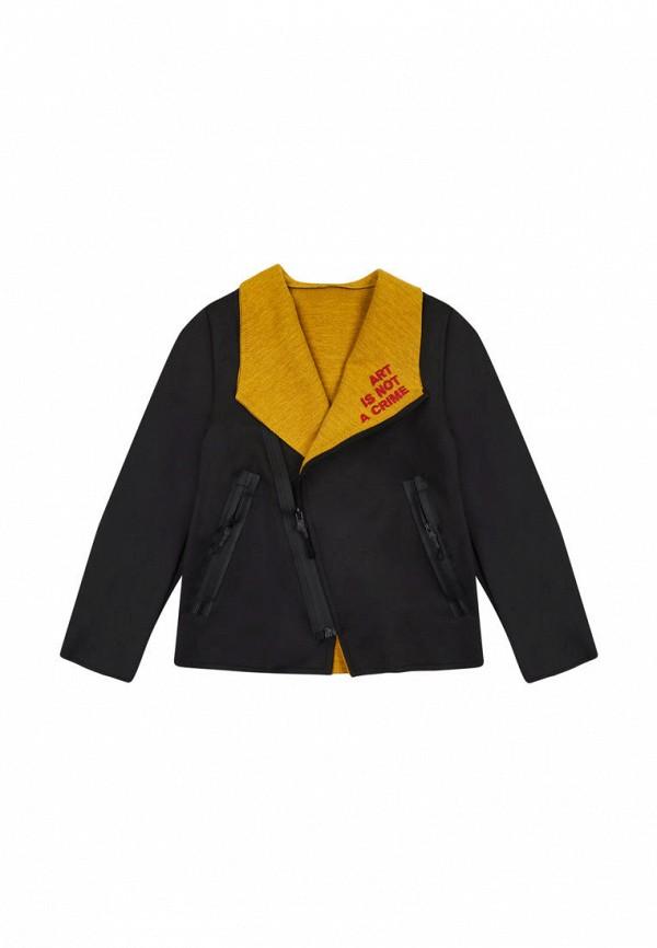 куртка fox&roll малыши, черная