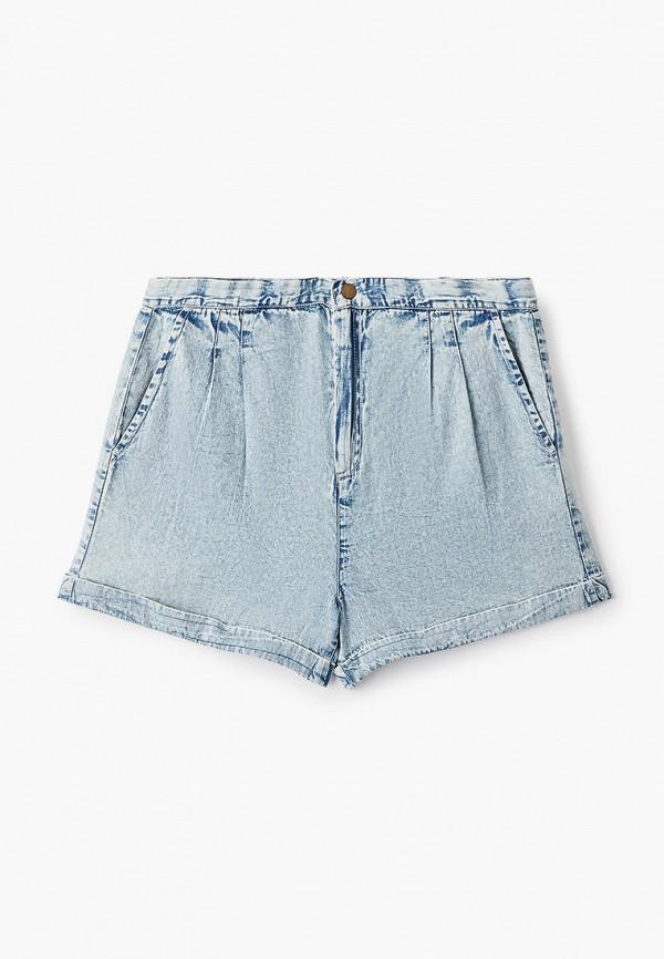 джинсовые шорты baon малыши, голубые