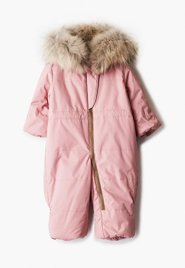 Детский комбинезон утепленный Zukka цвет розовый