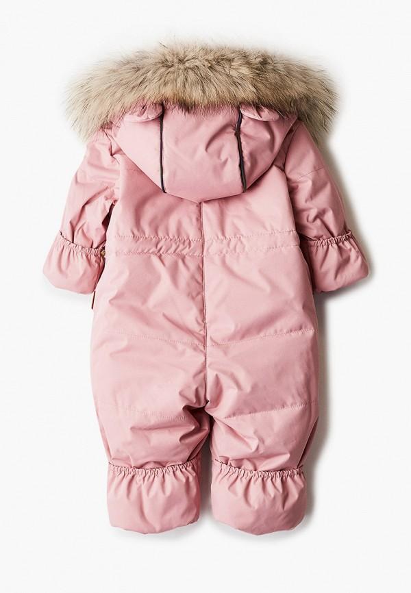 Детский комбинезон утепленный Zukka цвет розовый  Фото 2