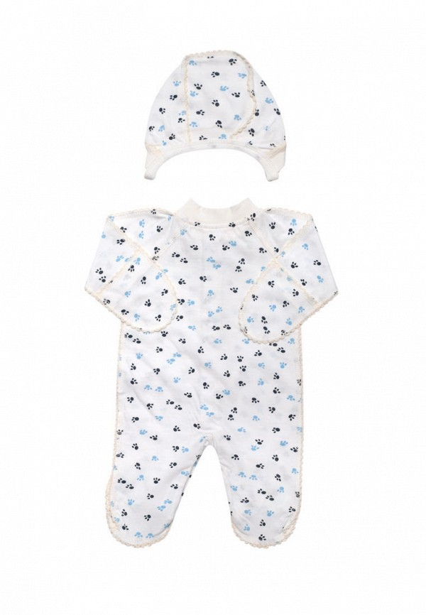 Комплект для новорожденного Клякса цвет белый  Фото 2