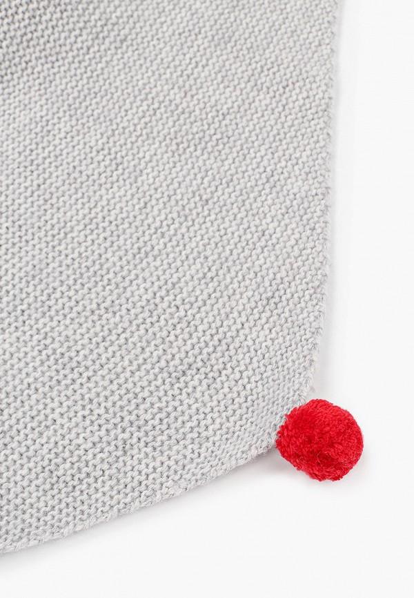 Шарф для мальчика Снег Идёт цвет серый  Фото 2