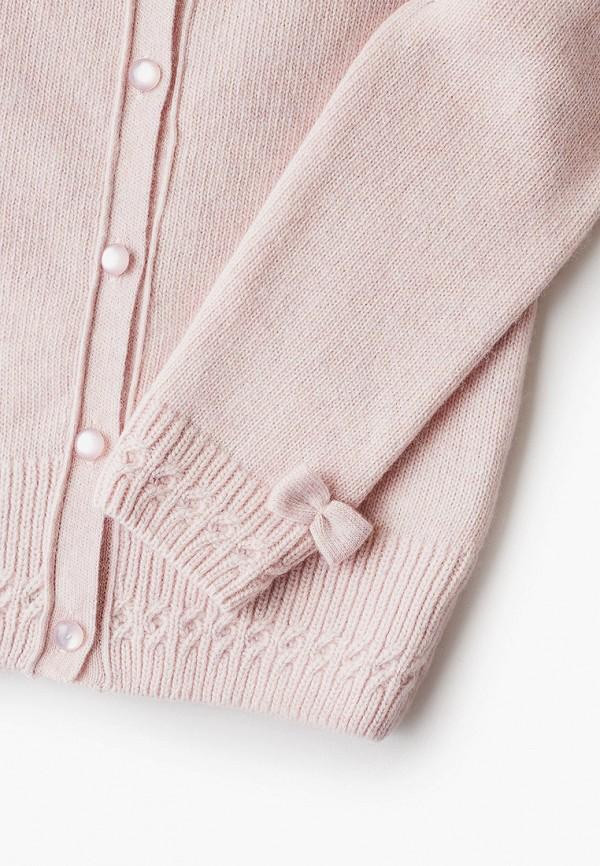 Кардиган для девочки Снег Идёт цвет розовый  Фото 3