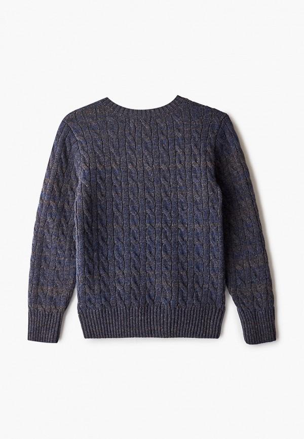 Пуловер для мальчика Снег Идёт цвет синий  Фото 2