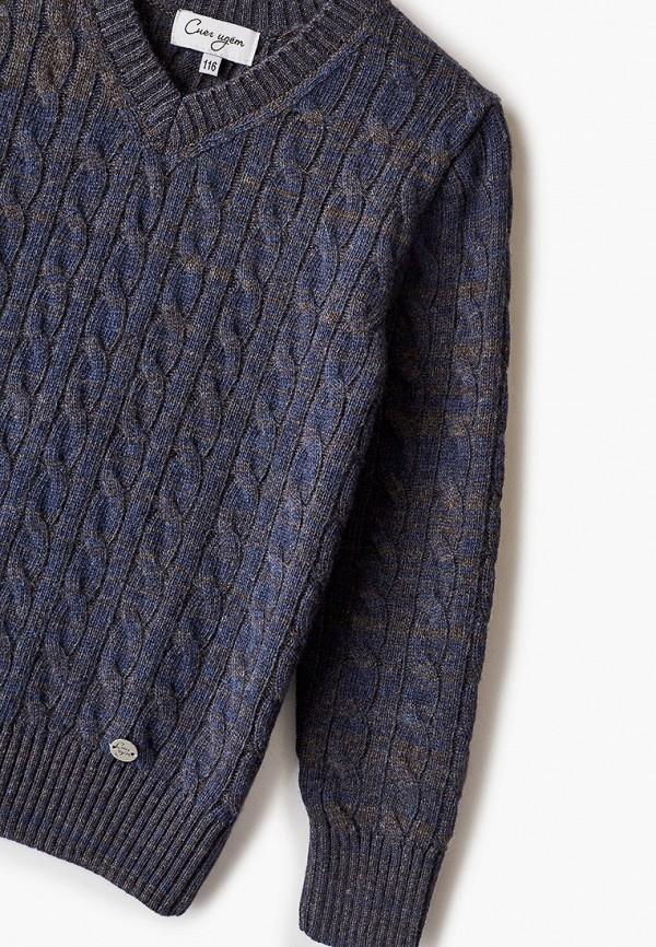 Пуловер для мальчика Снег Идёт цвет синий  Фото 3