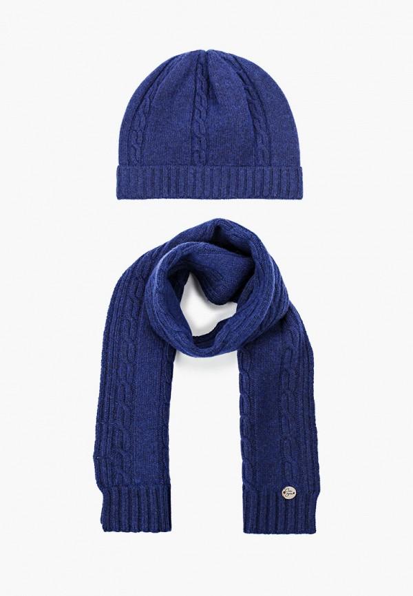 шарф снег идёт малыши, синий