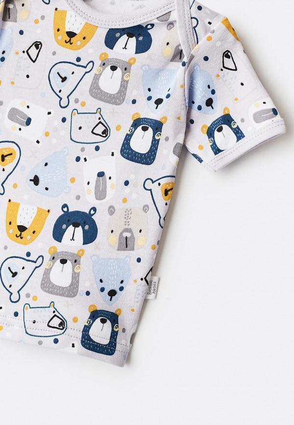 Пижама для мальчика Веселый малыш цвет серый  Фото 3