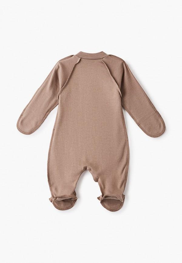 Детский комбинезон Веселый малыш цвет коричневый  Фото 2