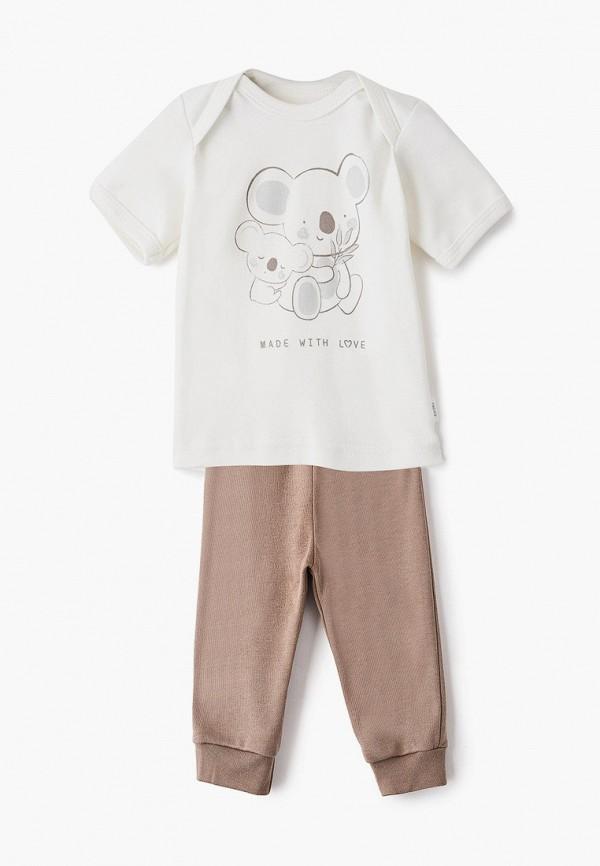 Комплект для новорожденного Веселый малыш цвет коричневый