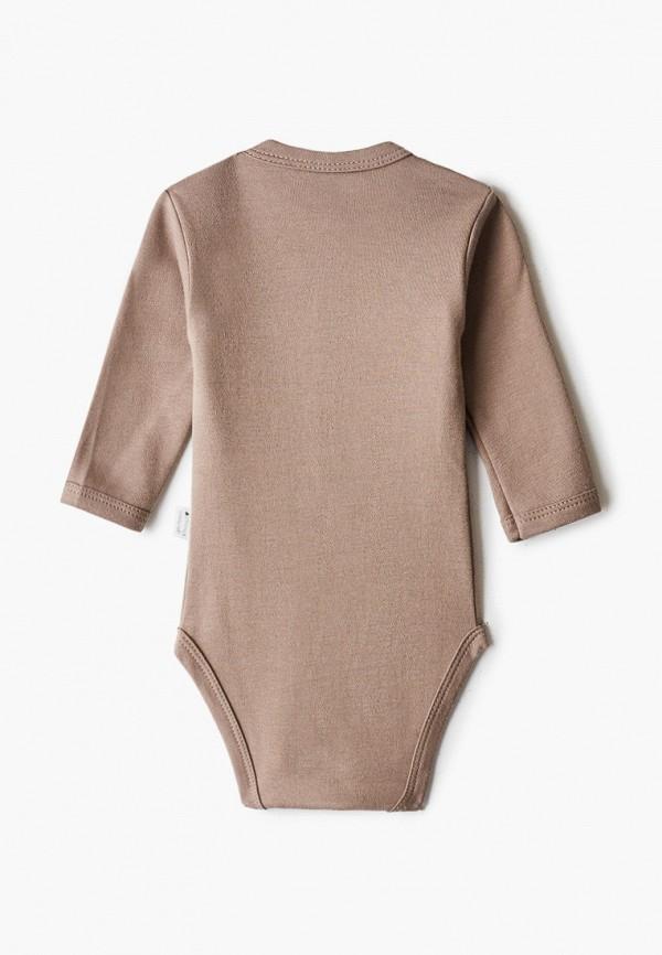 Боди для новорожденного Веселый малыш цвет коричневый  Фото 2
