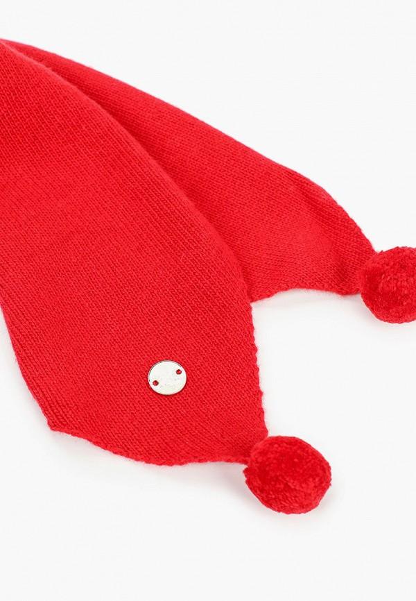 Шарф для мальчика Снег Идёт цвет красный  Фото 2