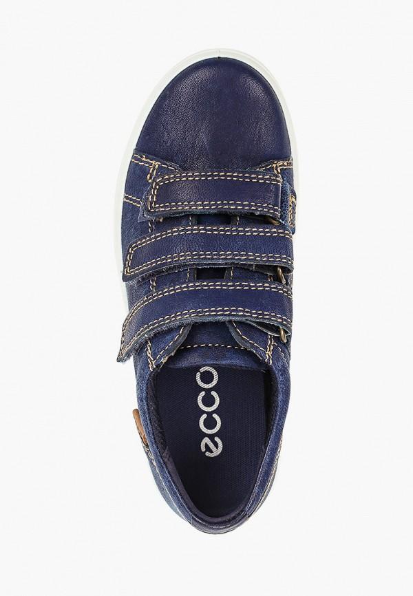 Кеды для мальчика Ecco цвет синий  Фото 4