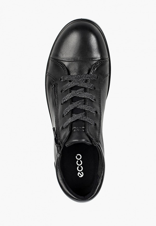 Кеды для мальчика Ecco цвет черный  Фото 4