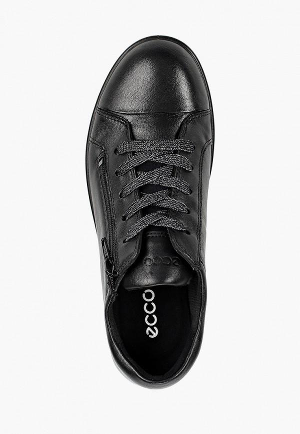 Кеды для девочки Ecco цвет черный  Фото 4