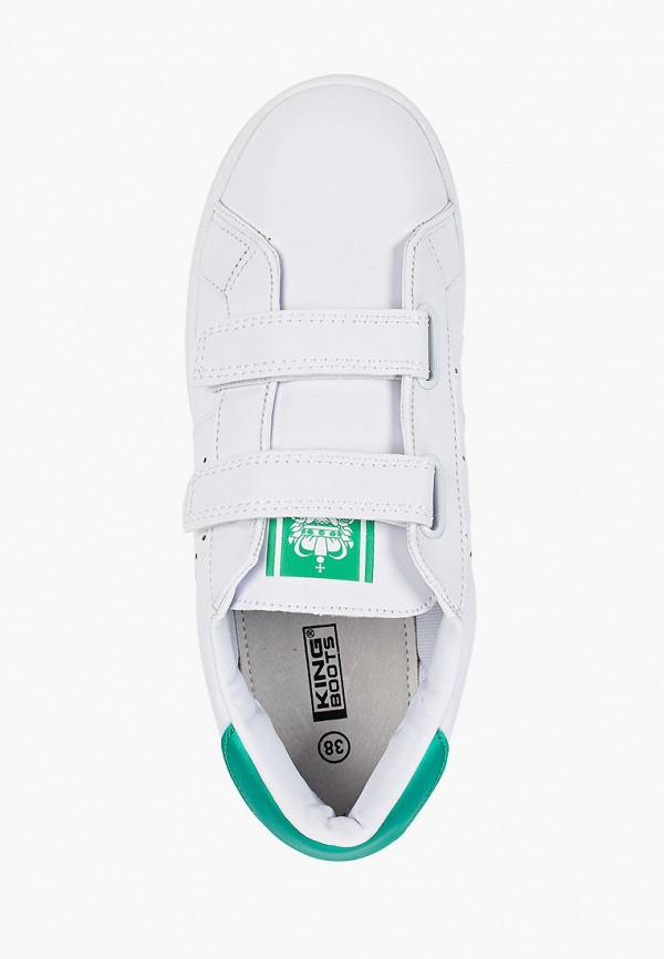 Кеды для мальчика King Boots цвет белый  Фото 4