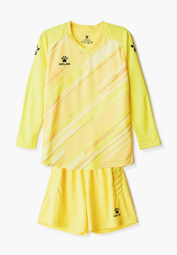 Костюм спортивный для мальчика Kelme цвет желтый