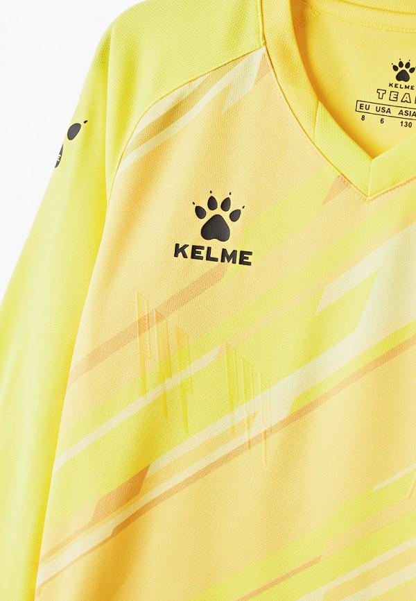 Костюм спортивный для мальчика Kelme цвет желтый  Фото 3