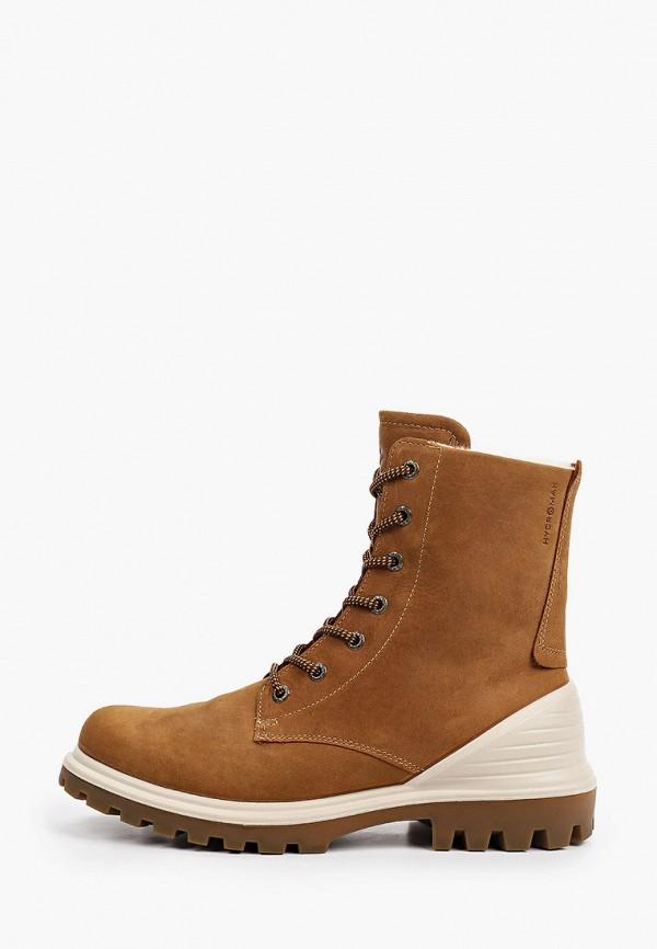 ботинки ecco малыши, коричневые