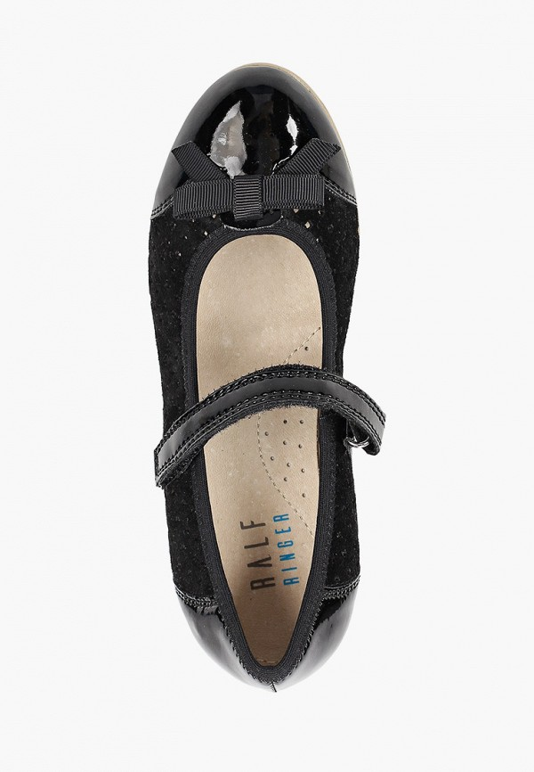 Балетки для девочки Ralf Ringer цвет черный  Фото 4