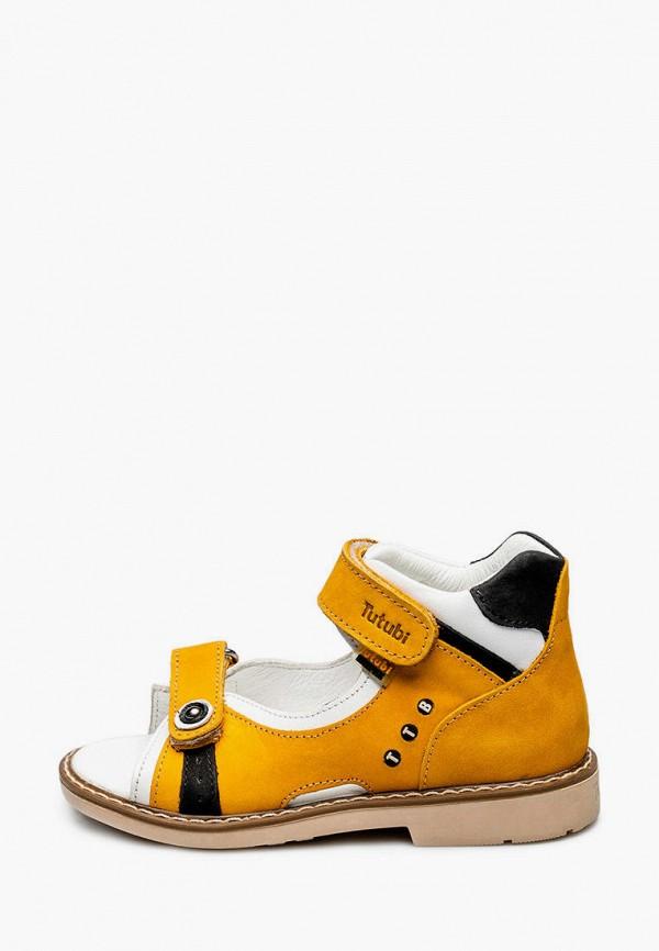 сандалии tutubi малыши, желтые
