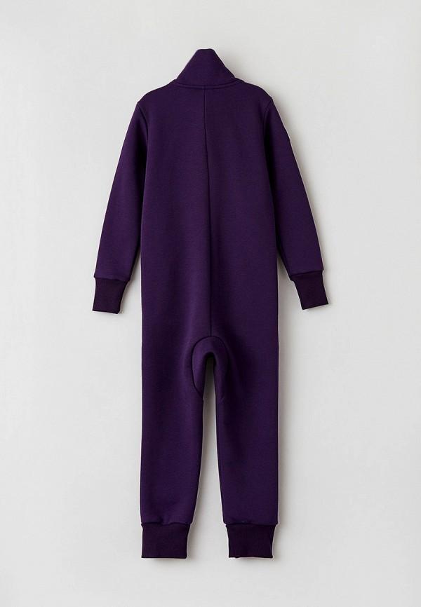 Детский комбинезон Cave Kids цвет фиолетовый  Фото 2