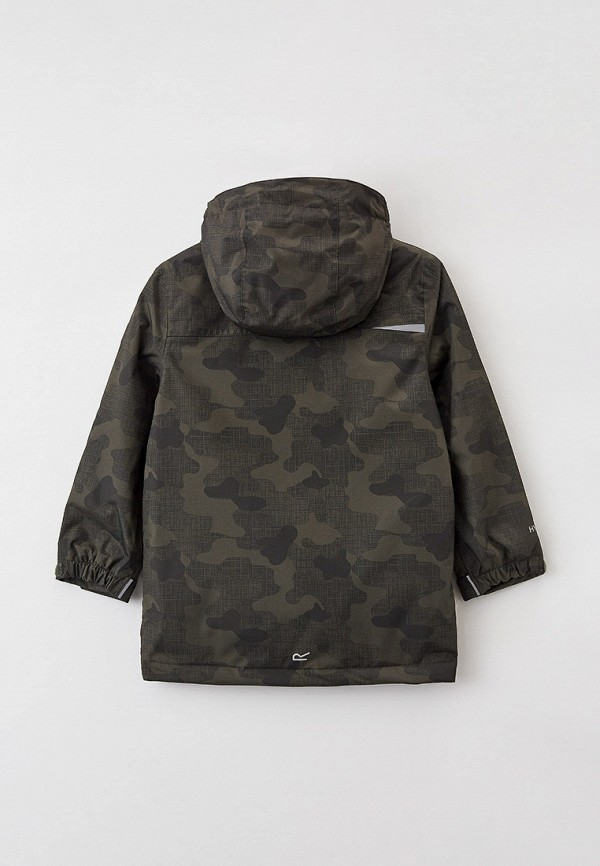 Куртка для девочки утепленная Regatta цвет хаки  Фото 2