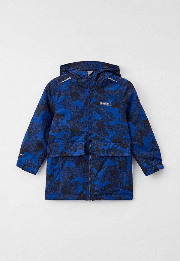 Куртка для девочки утепленная Regatta цвет синий