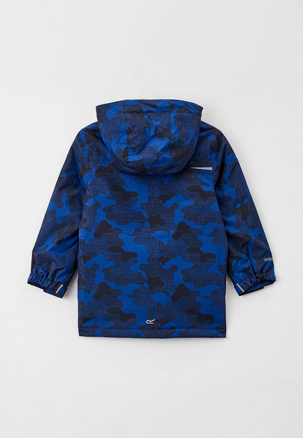 Куртка для девочки утепленная Regatta цвет синий  Фото 2