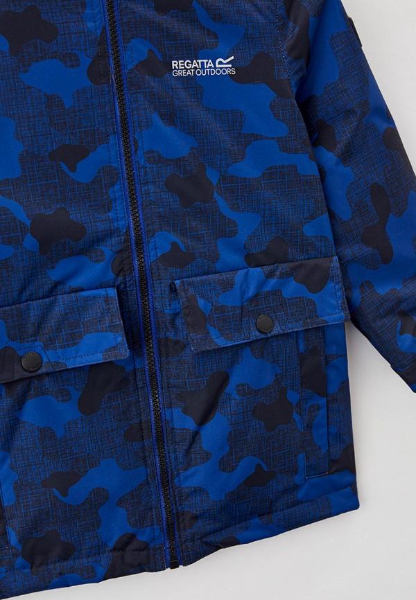 Куртка для девочки утепленная Regatta цвет синий  Фото 3