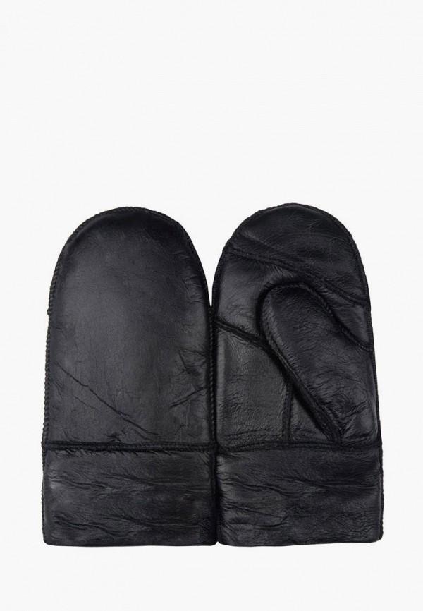 Варежки Mellizos черного цвета