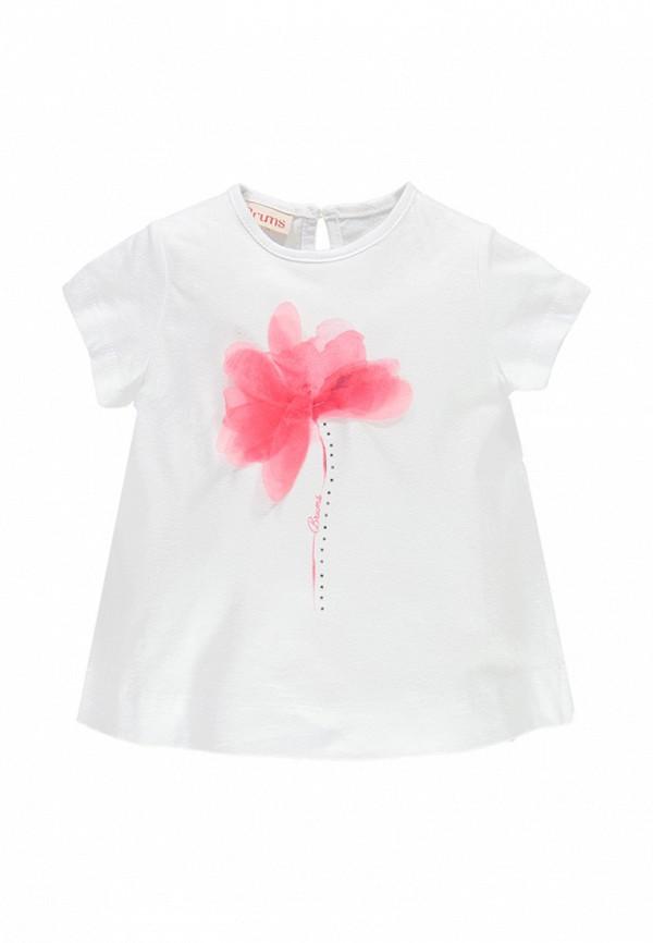 футболка с коротким рукавом brums малыши, белая