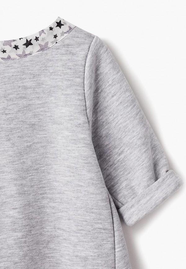 Платья для девочки COOCKOO цвет серый  Фото 3