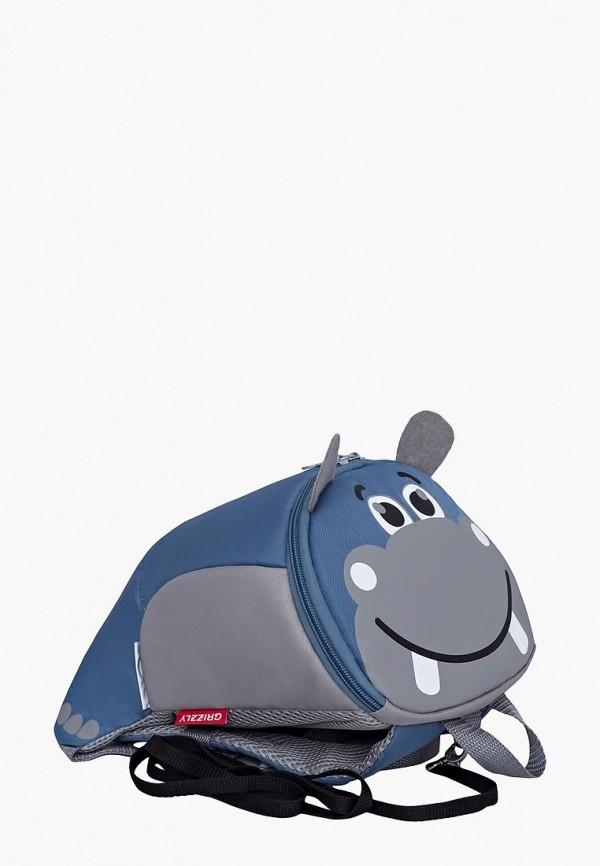 рюкзак grizzly малыши, голубой