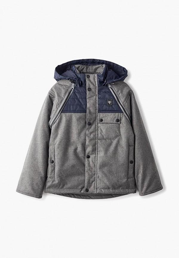 куртка kvartet малыши, серая
