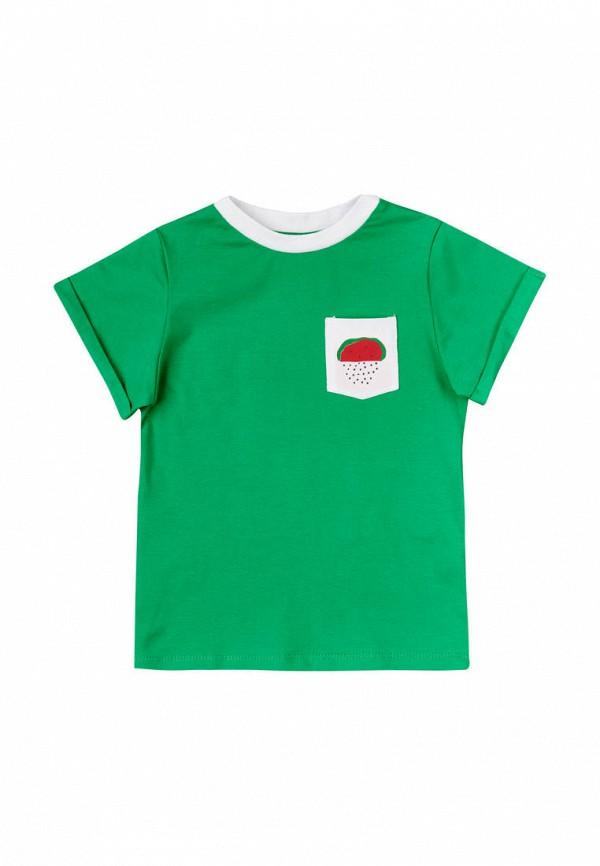 футболка с коротким рукавом garnamama малыши, зеленая
