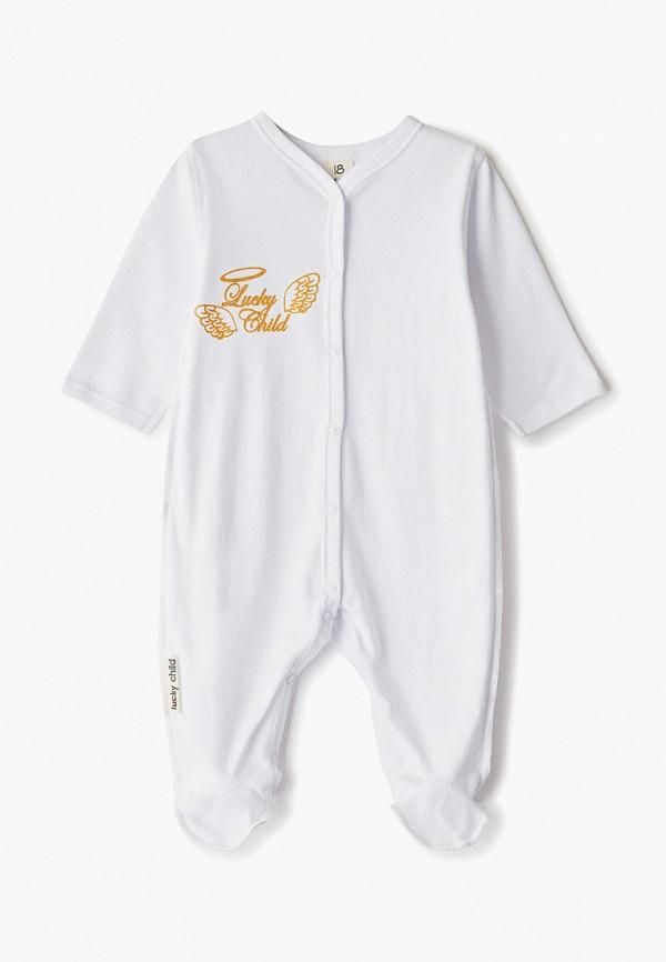 Комбинезон бельевой Lucky Child Lucky Child MP002XC00P9M комбинезон детский lucky child ангелы цвет белый 17 1 размер 74 80
