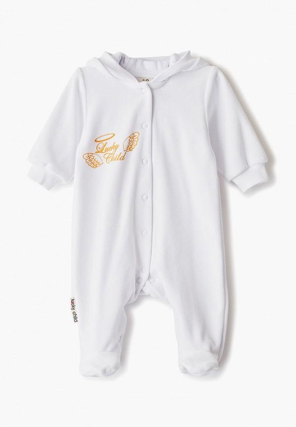 Комбинезон Lucky Child Lucky Child MP002XC00P9U комбинезон детский lucky child ангелы цвет белый 17 1 размер 74 80