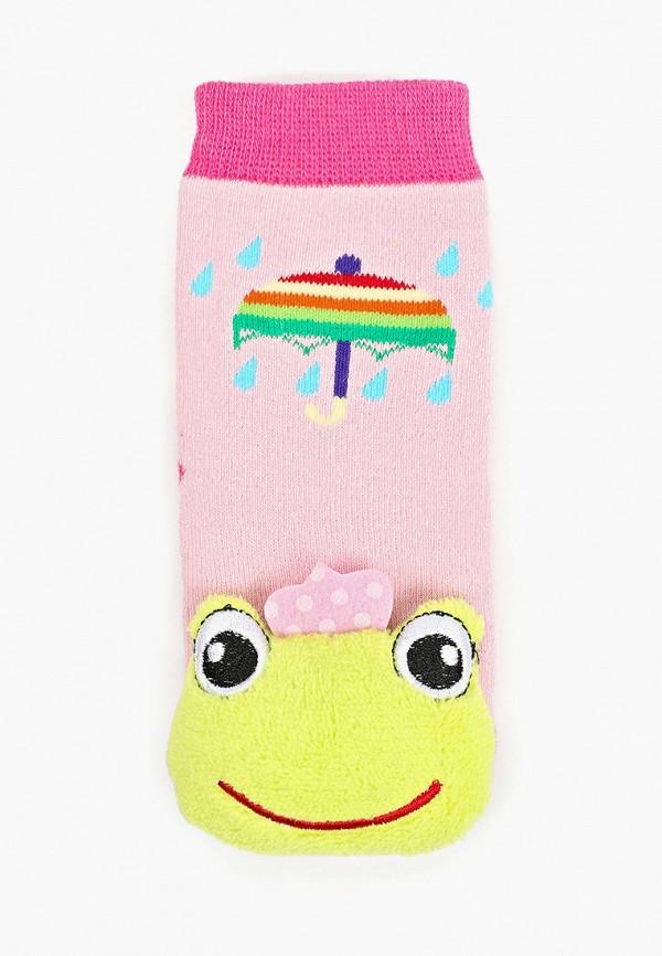Носки для девочки Lansa цвет розовый