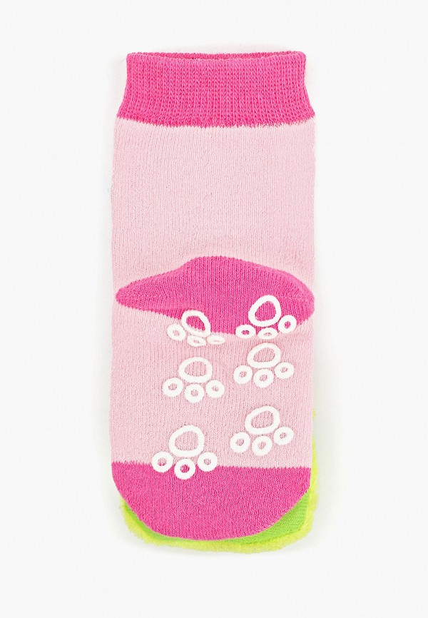Носки для девочки Lansa цвет розовый  Фото 2