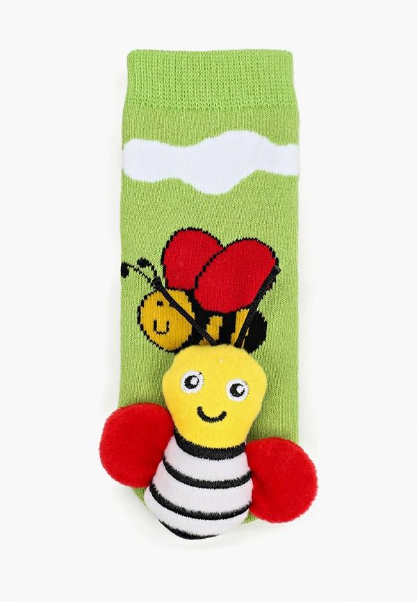 Носки для девочки Lansa цвет зеленый