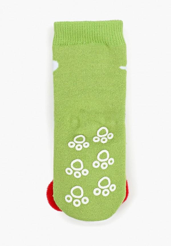 Носки для девочки Lansa цвет зеленый  Фото 2
