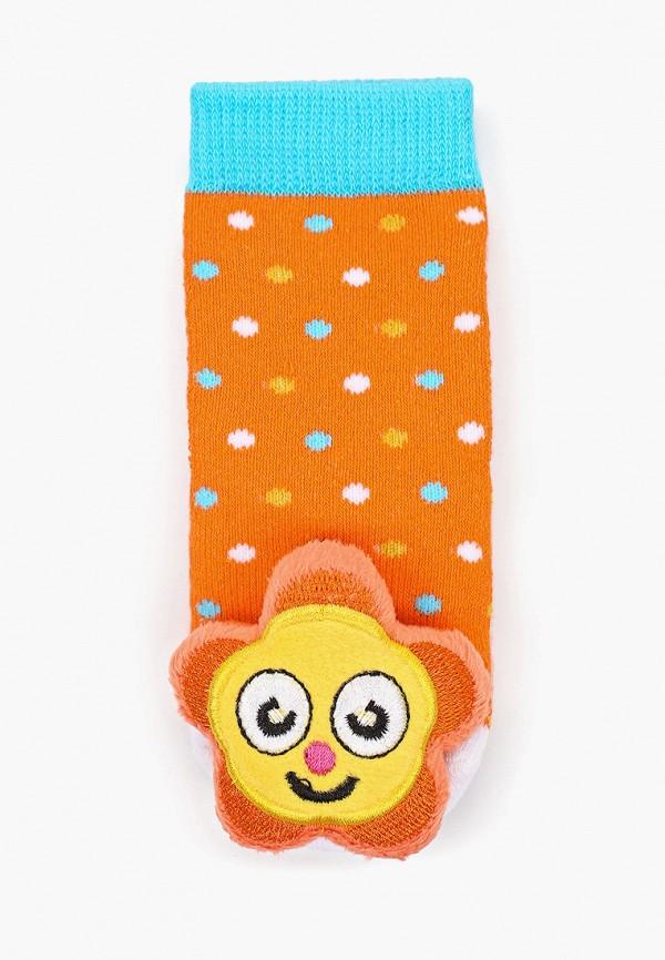 Носки Lansa цвет оранжевый