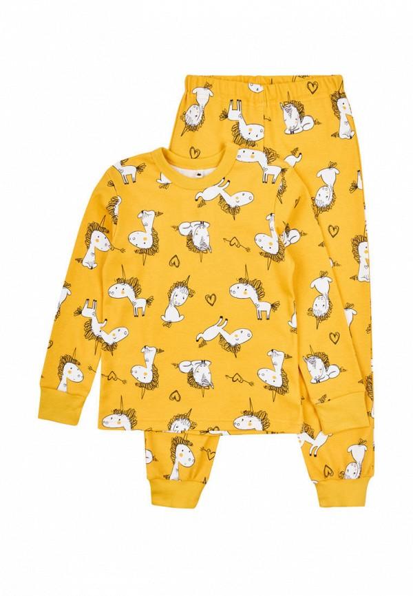 пижама garnamama малыши, желтая