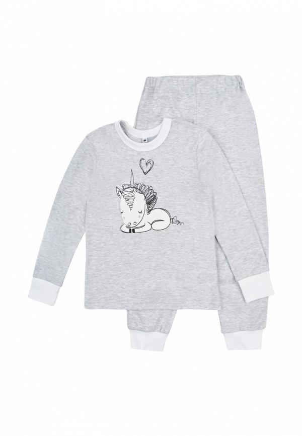 пижама garnamama малыши, серая