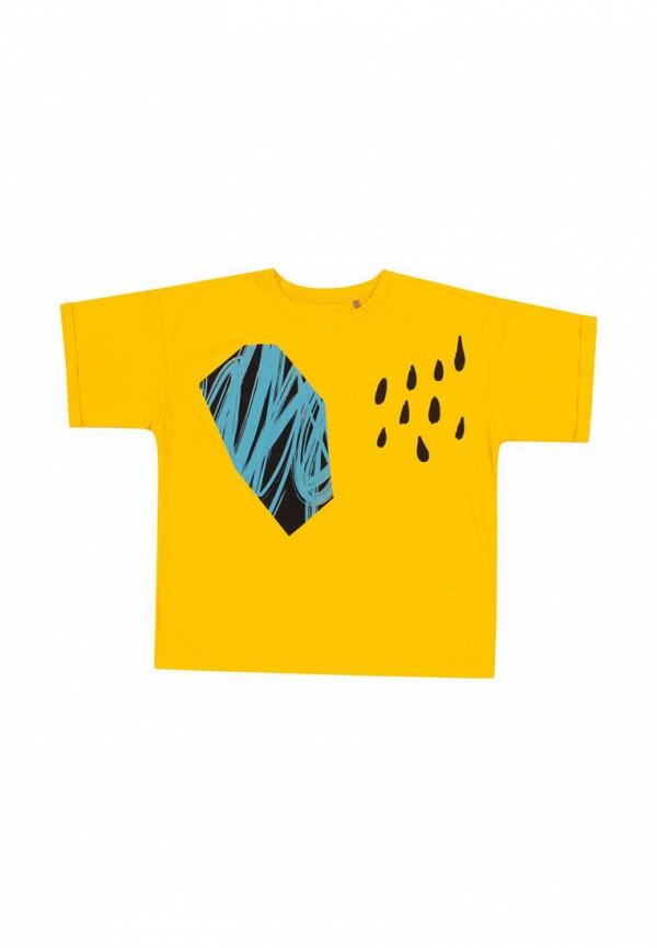 футболка с коротким рукавом бемби малыши, желтая